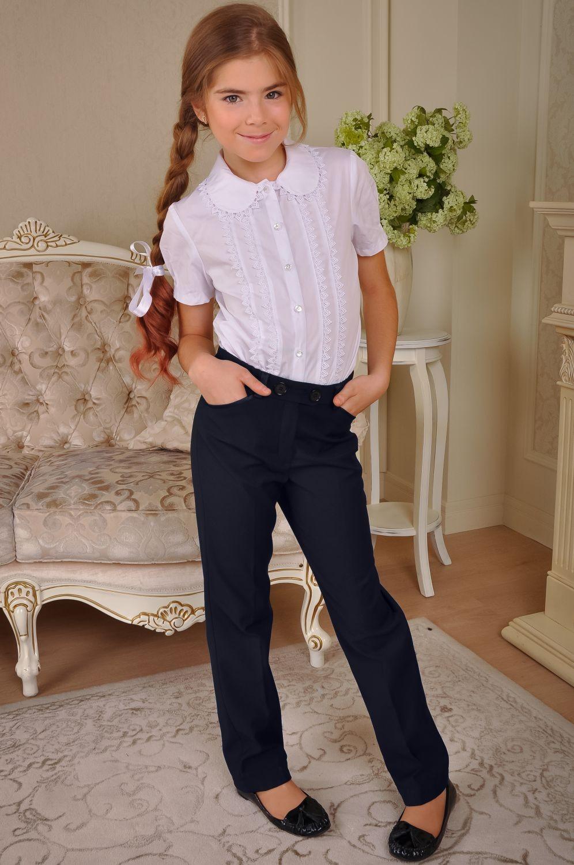 🥋Шкільні брюки для дівчинки на зиму сині    КУПИТИ • Україна  cb9401c40ee1e