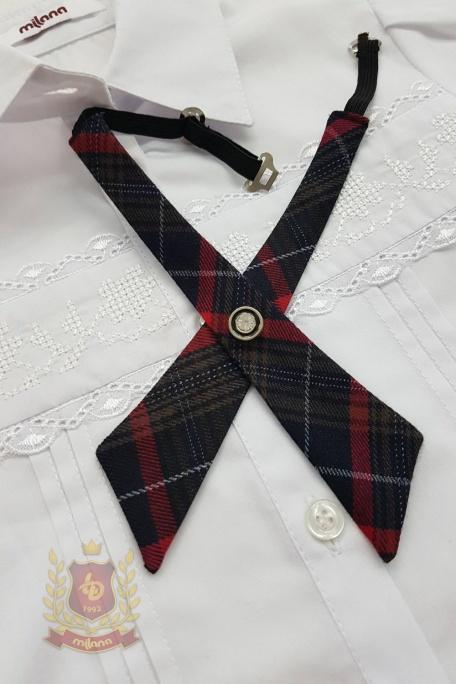 Школьный галстук для девочек