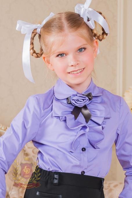 Блуза с длинным рукавом и
