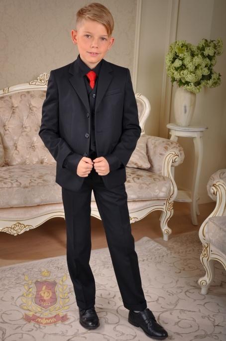 Пиджак полушерстяной с тефлоновым покрытием черный